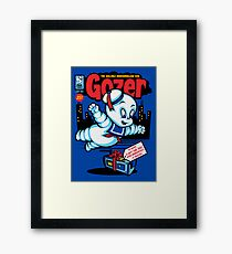 Gozer the Gullible God Framed Print