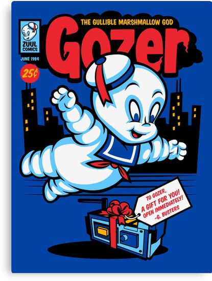 Gozer the Gullible God by harebrained