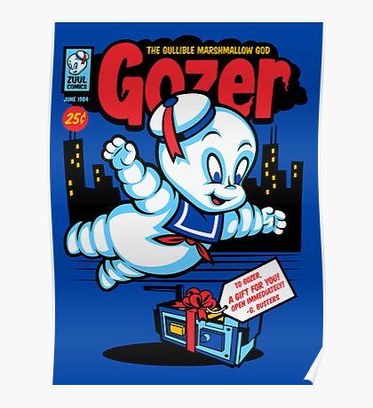 Gozer the Gullible God Poster