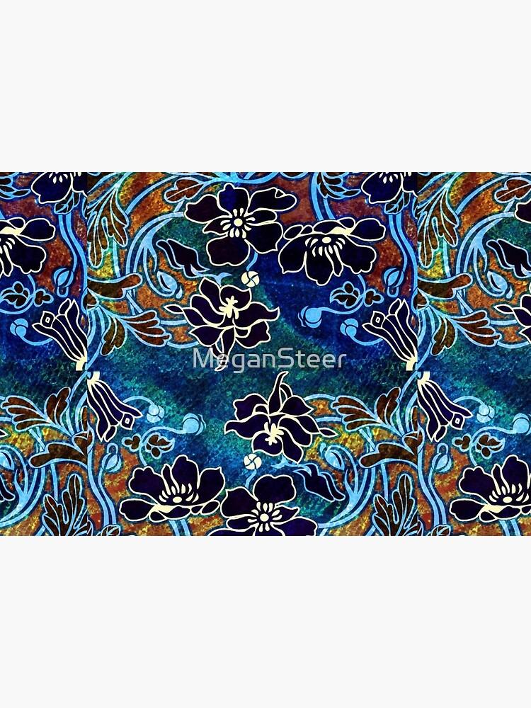 Peacock Floral, Part II by MeganSteer