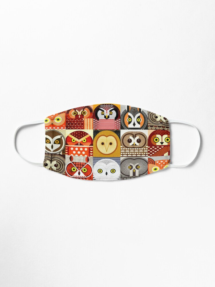 Alternate view of North American Owls Mask