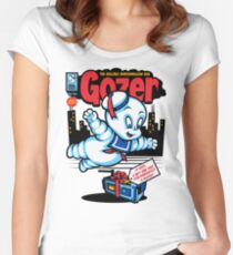 Gozer the Gullible God Women's Fitted Scoop T-Shirt