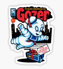Gozer the Gullible God Sticker