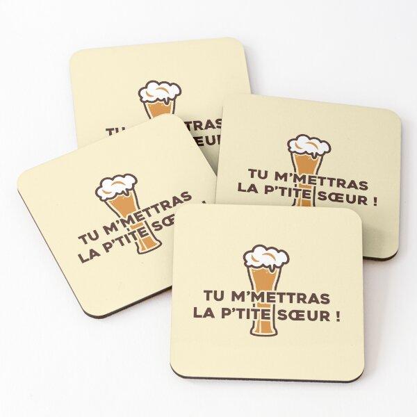 You will send me the little sister! - Dikkenek Coasters (Set of 4)