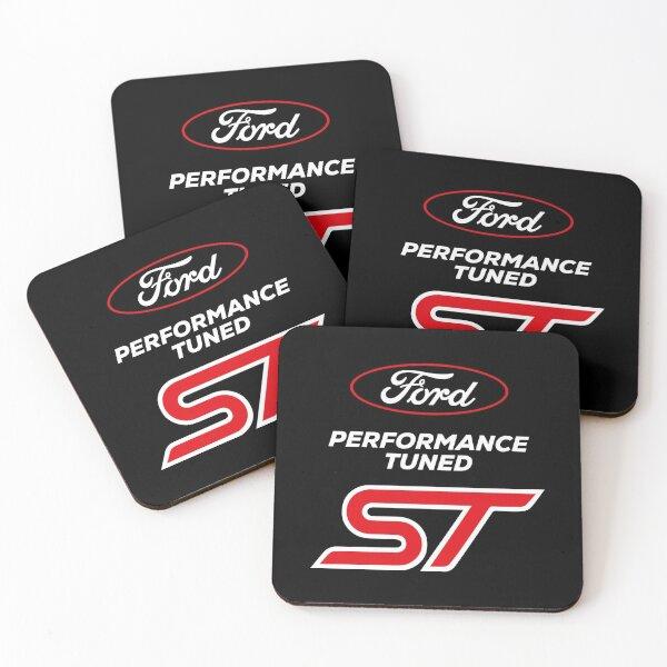 Ford Performance Tuned ST Dessous de verre (lot de 4)