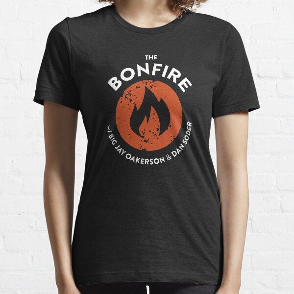 The Bonfire Official Podcast logo Essential T-Shirt