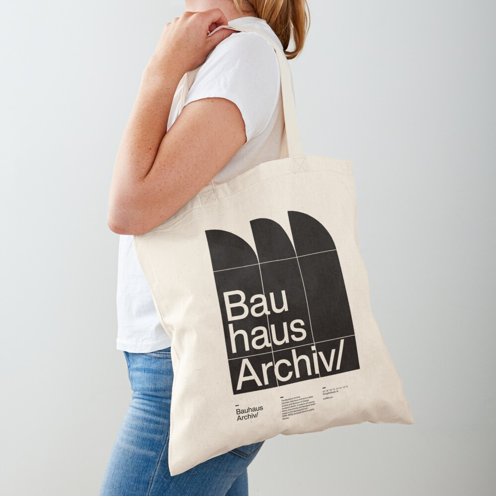 Bauhaus Archiv Tote Bag