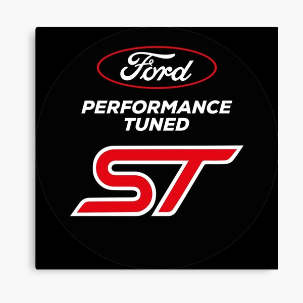 Ford Performance Tuned ST Canvas Print