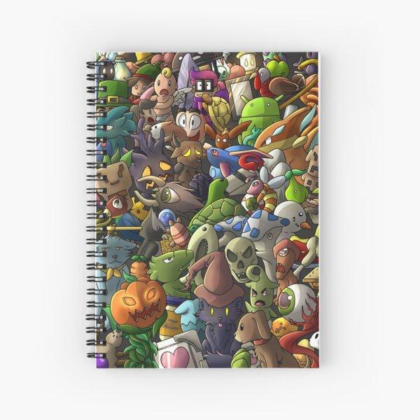 ALL TERRARIA PETS- Digital Spiral Notebook