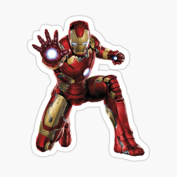Billionaire superhero Sticker