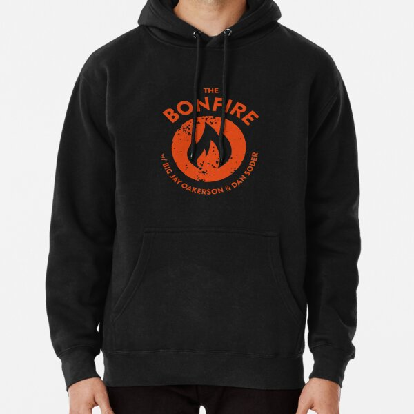 The Bonfire Official Podcast logo Pullover Hoodie