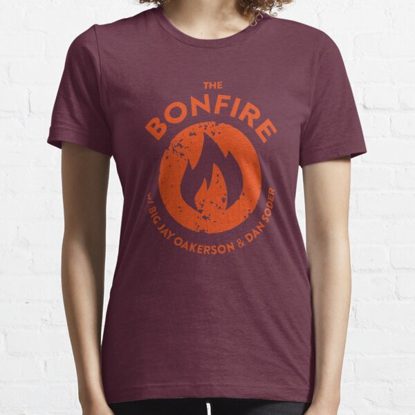 The Bonfire Official Podcast logo Essential T-Shirt
