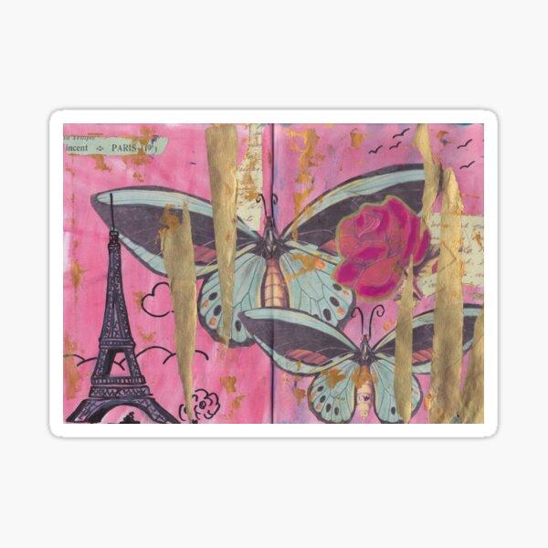 Paris, come travel with me. Sticker