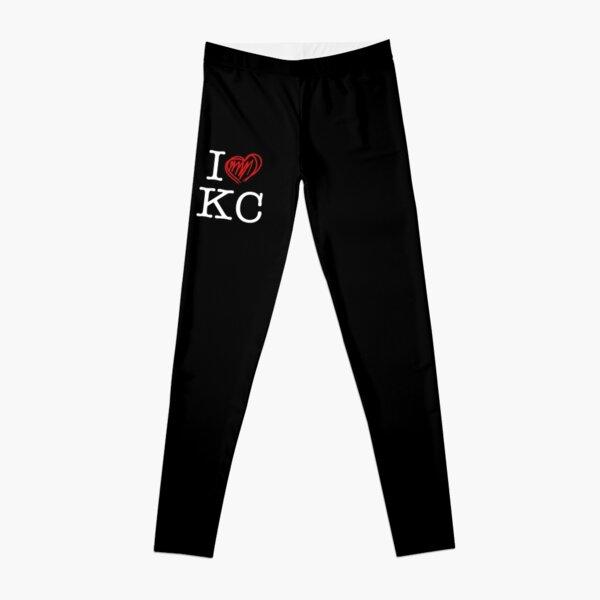 I HEART KC (white text) Leggings