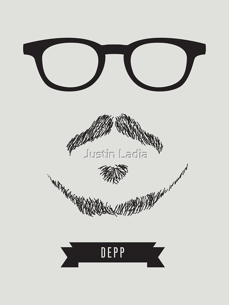 Beards with Glasses  Johnny Depp | Unisex T-Shirt