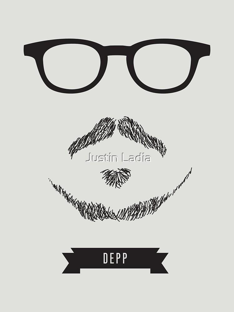 TShirtGifter presents: Beards with Glasses  Johnny Depp | Unisex T-Shirt