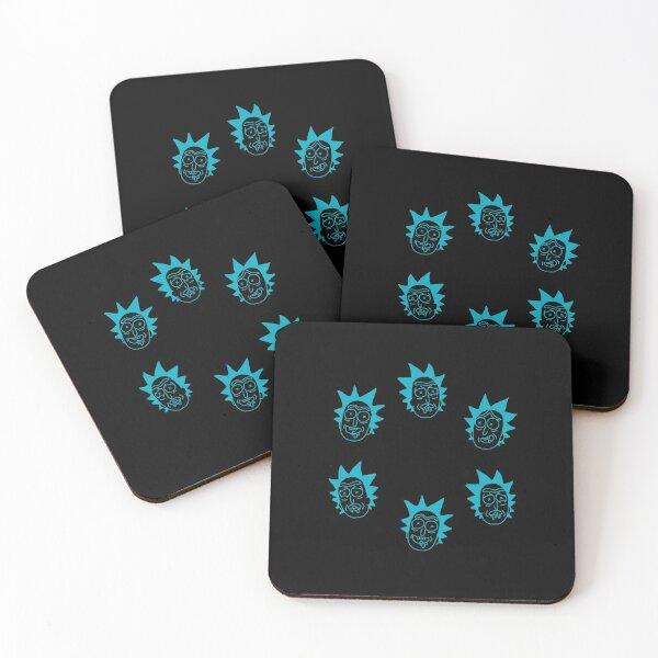 Rick o'clock Coasters (Set of 4)