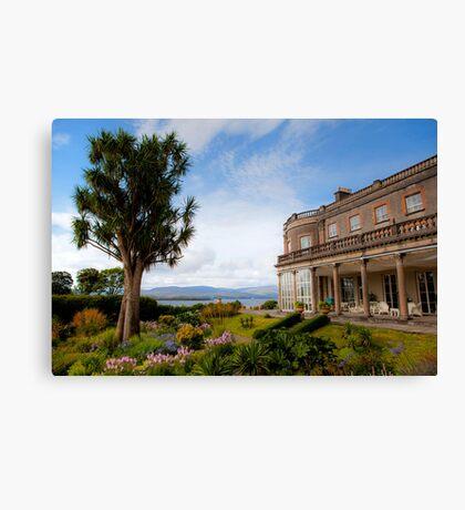 Bantry House & Garden Canvas Print