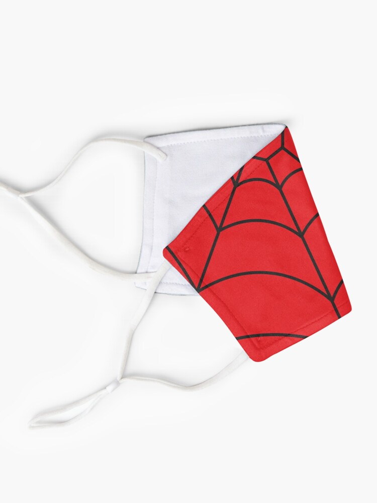 Alternate view of Spider Web RED Mask
