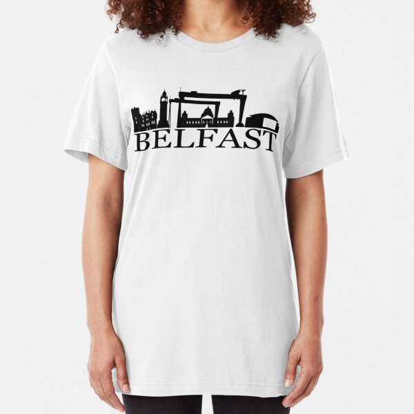 belfast city Slim Fit T-Shirt Unisex Tshirt