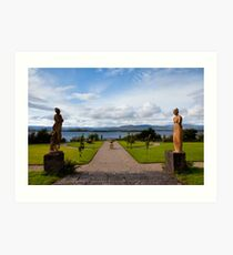 The view from Bantry House  Art Print