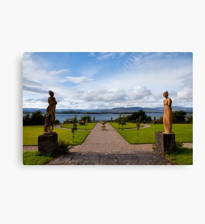 The view from Bantry House  Canvas Print
