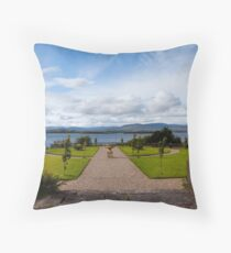 The view from Bantry House  Throw Pillow