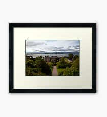 Bantry House and Bay Framed Print