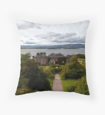 Bantry House and Bay Throw Pillow