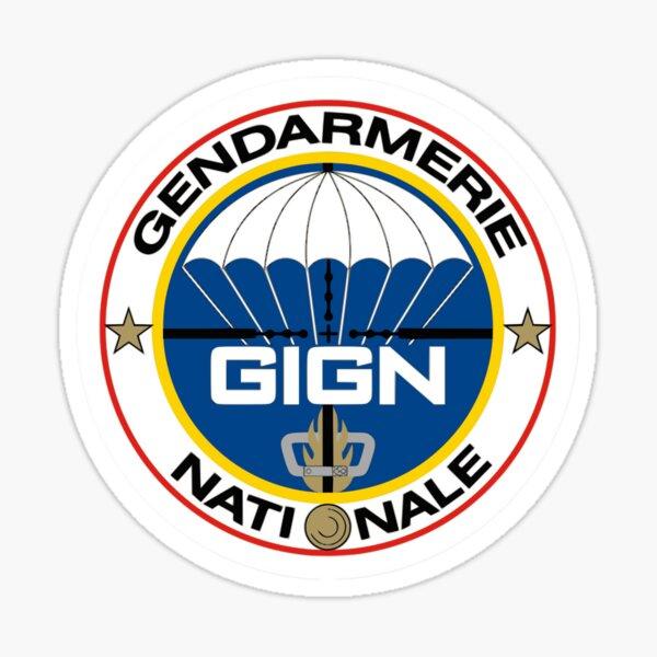 communément abrégé GIGN (français: Groupe d'Intervention de la Gendarmerie Nationale) Sticker