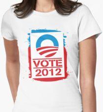 Vote Obama 2012 Women's T Shirt T-Shirt