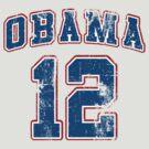 Retro Obama 2012 Women's Shirt by ObamaShirt
