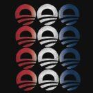Red White and Blue Obama Logo Women's Shirt by ObamaShirt