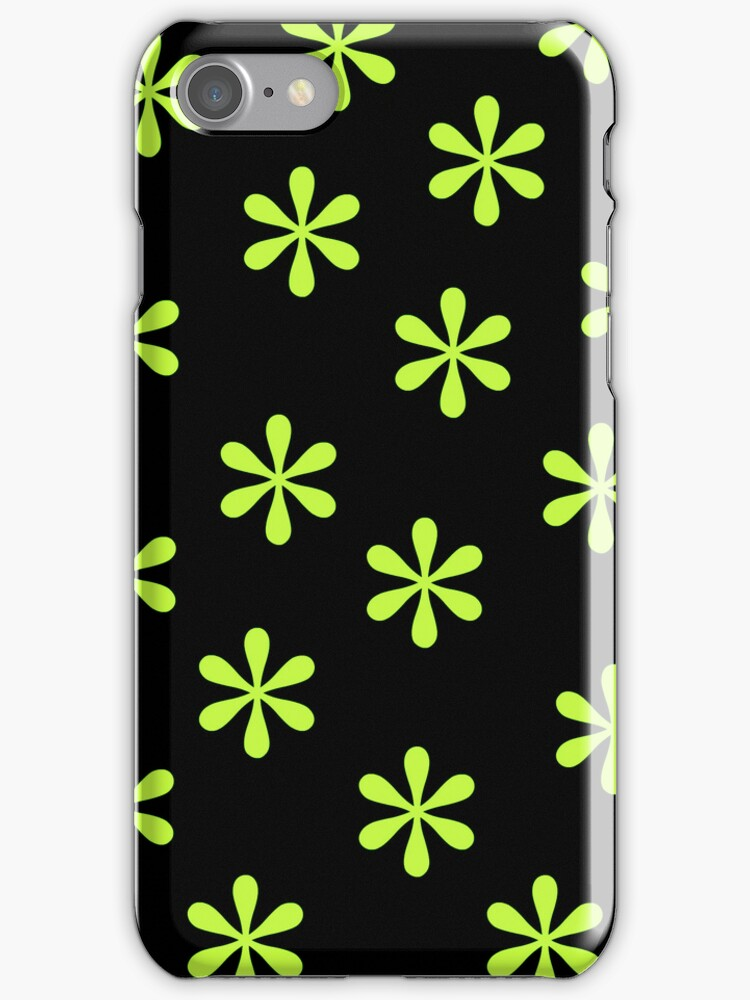 Green Flowers by Paula J James