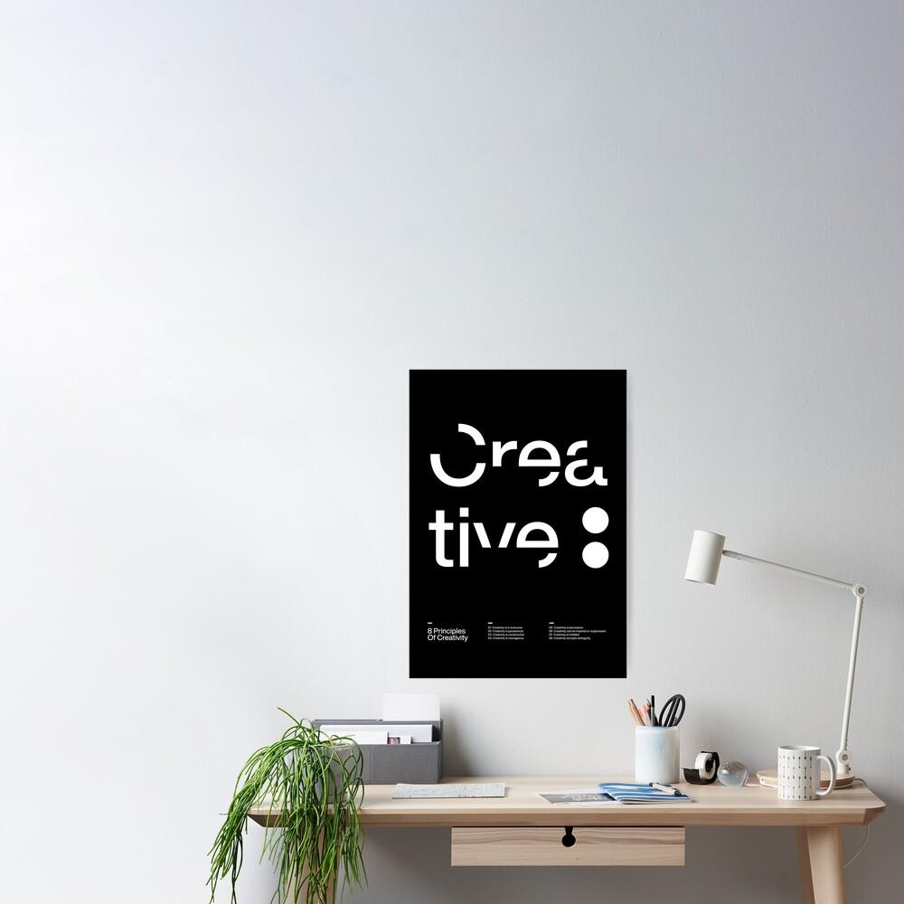 Crea tive :  Poster