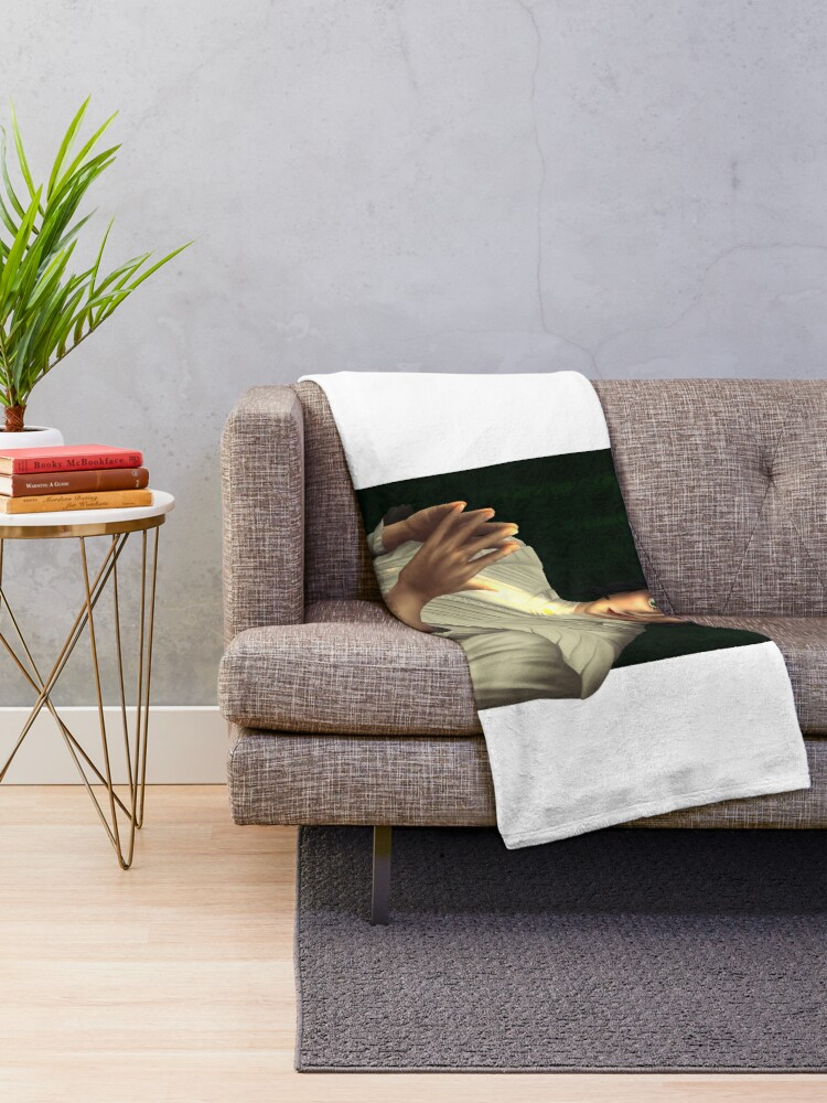 Alternate view of Audrey Rose - Stalking Jack the Ripper - Six Fanarts Throw Blanket