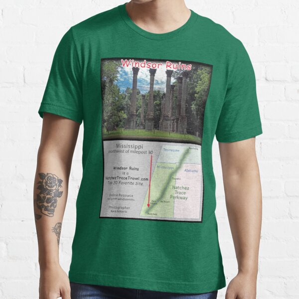 Windsor Ruins on the Natchez Trace Parkway. Essential T-Shirt
