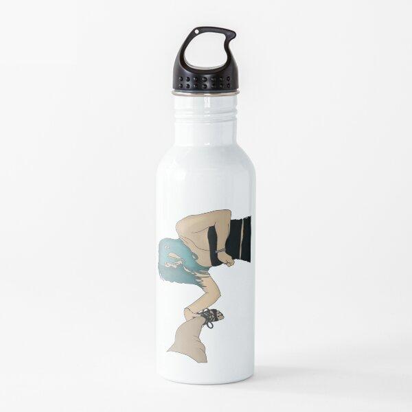 Drunk friend on the ground Water Bottle