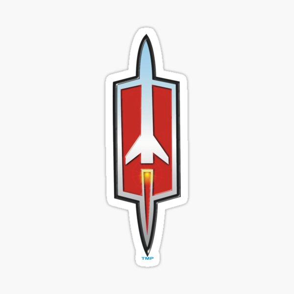 Olds' Cool Rocket Sticker