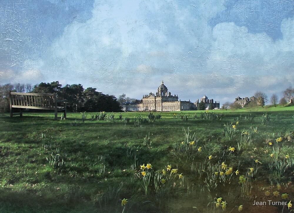 Castle Howard in Spring by Jean Turner
