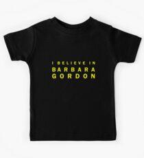 I Believe in Barbara Gordon Kids Tee