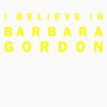 I Believe in Barbara Gordon by channingellison
