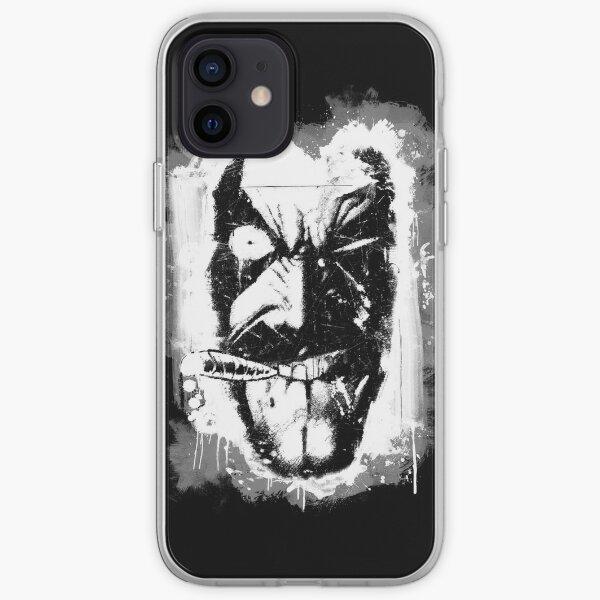 Lobo (w/ Grunge Background) iPhone Soft Case