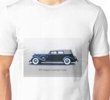 1935 Packard Convertible Sedan w Title Unisex T-Shirt