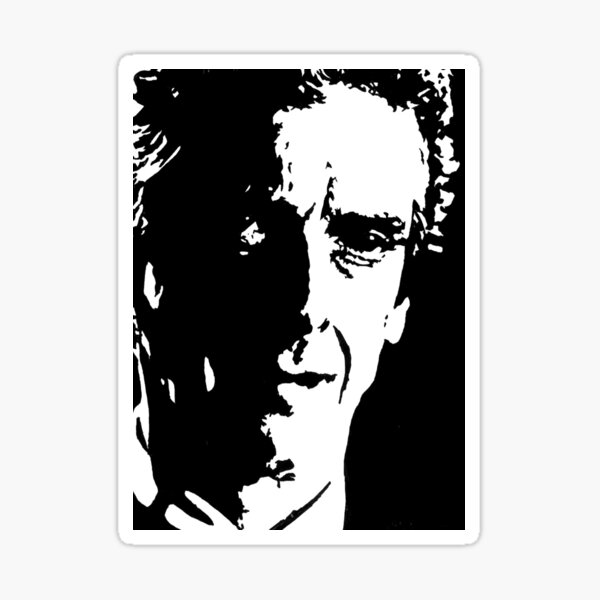 Twelfth Doctor - Face the Raven Sticker