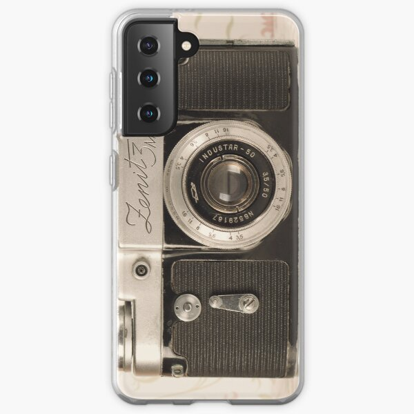 Vintage Camera Samsung Galaxy Soft Case