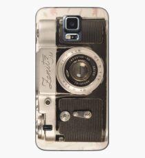 Vintage Camera Hülle & Klebefolie für Samsung Galaxy