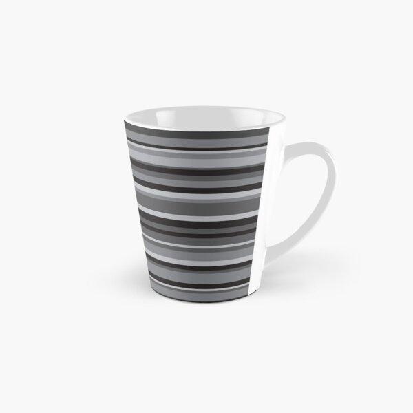 Gray lines design Tall Mug