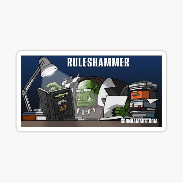 Ruleshammer Sticker