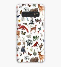 Wild Woodland Animals Case/Skin for Samsung Galaxy